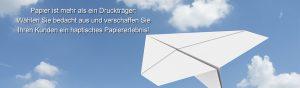 Dialoghaus Print und Mail Mailing Mailingdruck Papier Druckträger Haptik Papiererlebnis