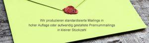 Dialoghaus Print und Mail Slider Mailings Premiummailings Gestaltung Auflage